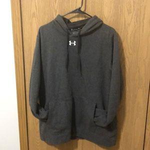 Under Armour gray men's hoodie medium cold gear